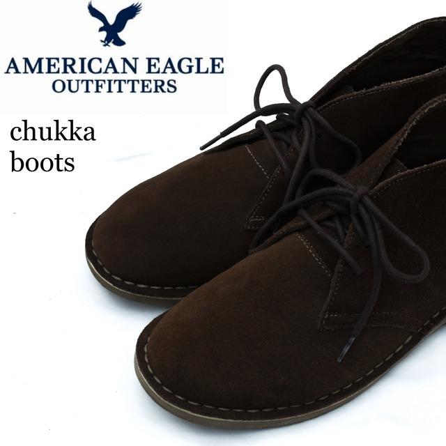 AMERICAN EAGLE アメリカンイーグル スウェード チャッカブーツ