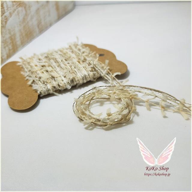 引き揃え糸カード : ~木陰のお茶会~  オリジナル糸 ファンシー ラッピング タッセル
