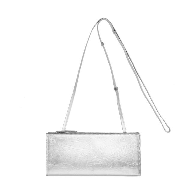 《財布ポーチS》TIN BREATH Travel purse Silver