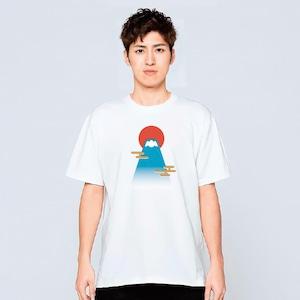富士山 Tシャツ メンズ レディース 半袖 おしゃれ 白 夏 大きいサイズ 綿100% 160 S M L XL