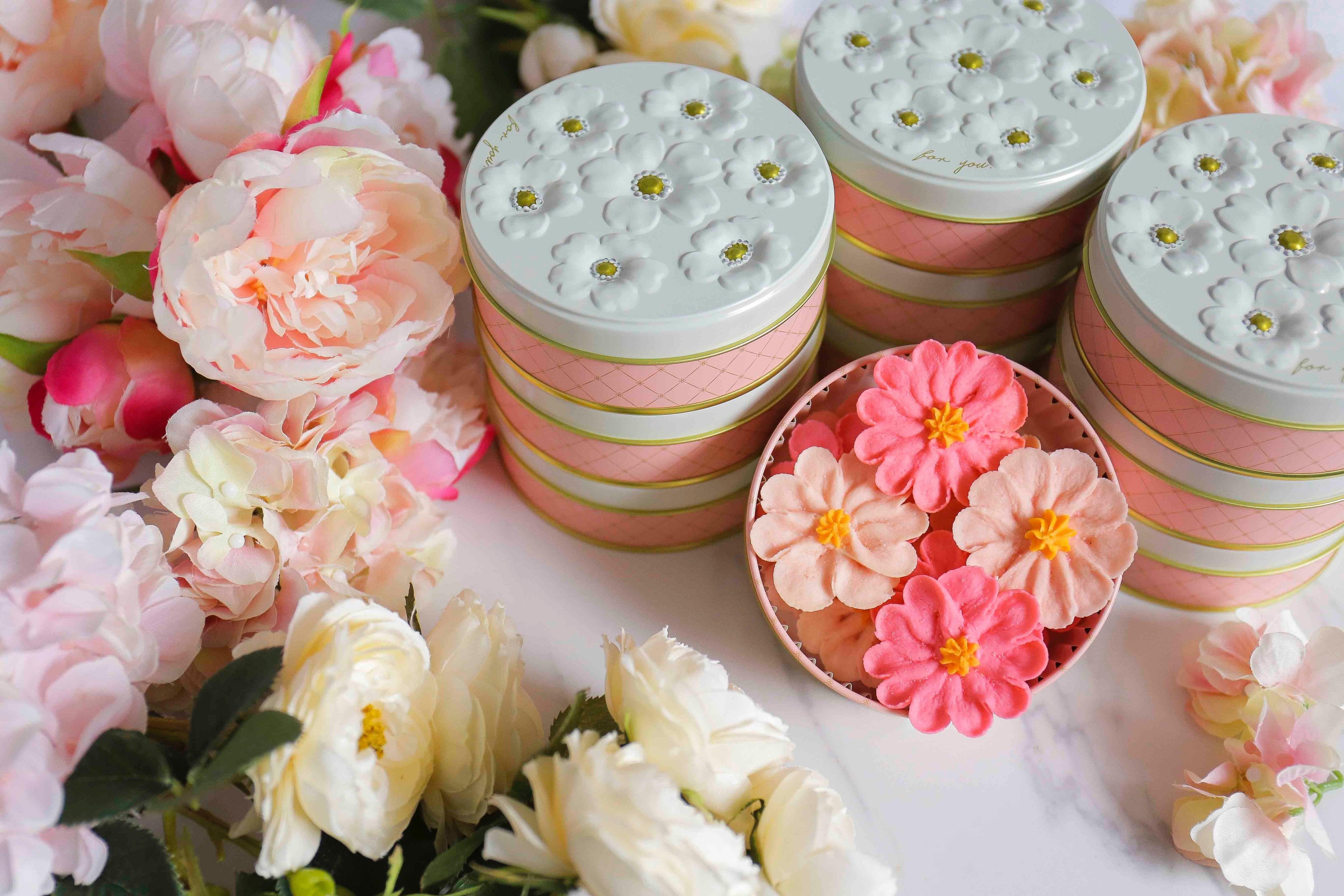 【コスモス】お花のぼうろ<10缶セット>