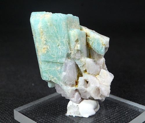 コロラド産 アマゾナイト 原石  40,7g AZ0061 天河石(てんがせき) 鉱物 天然石