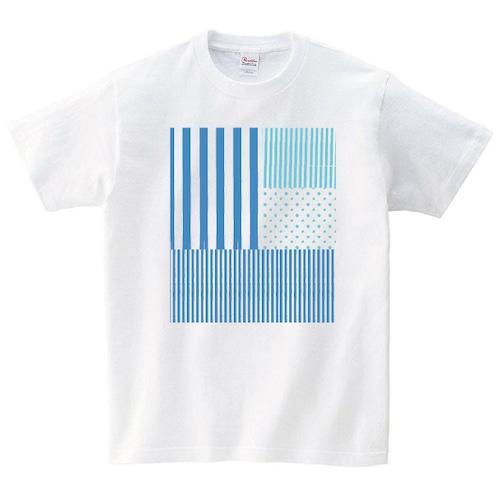 ライン Tシャツ メンズ レディース 半袖 シンプル ゆったり おしゃれ トップス 白 30代 40代 ペアルック プレゼント 大きいサイズ 綿100% 160 S M L XL