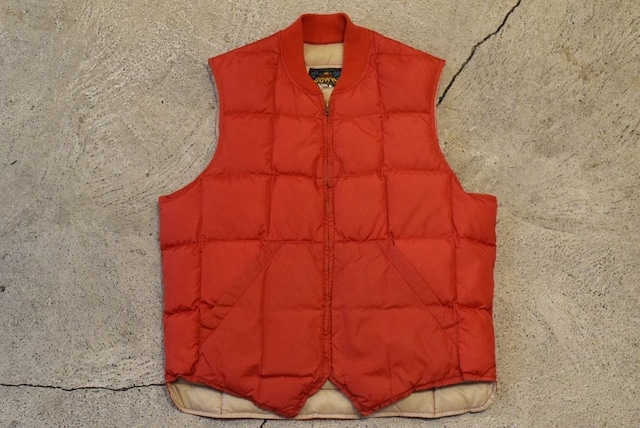 USED 50s BAUER DOWN Down Vest -40 0840