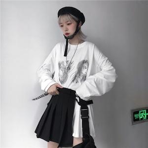【トップス】ストリート系プリント人気Tシャツ43011414