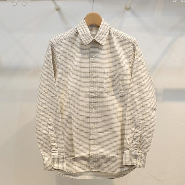 Workers(ワーカーズ) スーピマオックス レギュラーカラーシャツ タッターソール