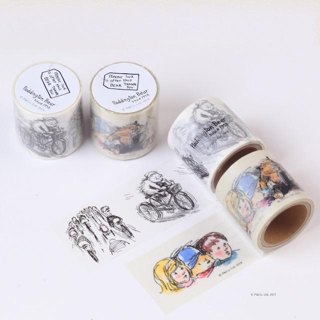 「くまのパディントン™展」展覧会オリジナルのマスキングテープセット(2個)