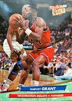 NBAカード 92-93FLEER Harvey Grant #188 BULLET