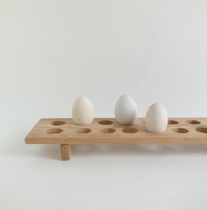 木製卵置き