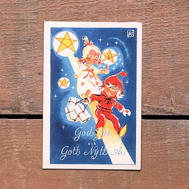 ミニ・クリスマスカード「Astrid Österling(アストリッド・オステリング)」《201211-03》