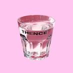 「THENCE」グラス