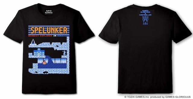 SPELUNKER x HOKKAIDO Tシャツ  (CONTROLLER 限定商品)