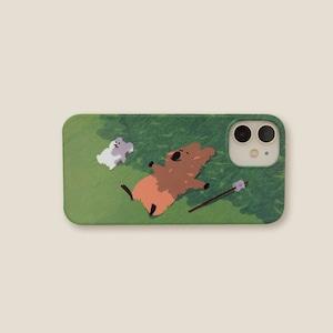 [DINOTAENG]  BREEZY ハード iPhoneケース(全3機種)