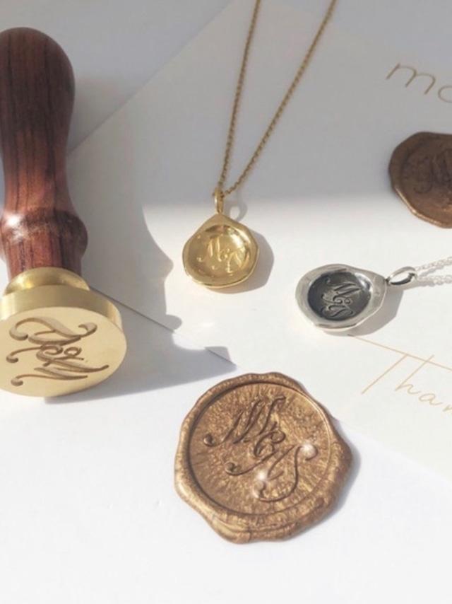 mocoa'sシーリングネックレス ¥14,800+tax