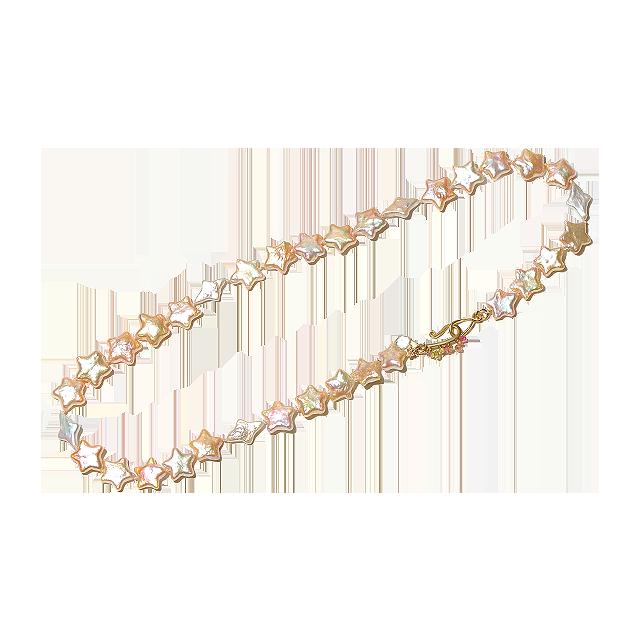 Bon-bon necklace(ボンボンネックレス )EMU-012sp スター