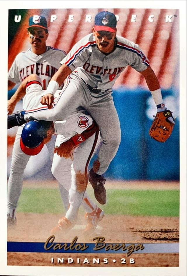 MLBカード 93UPPERDECK Carlos Baerga #174 INDIANS