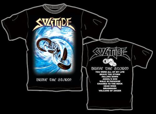 """SOLITUDE """"Brave The Storm"""" ツアー限定Tシャツ(1)"""