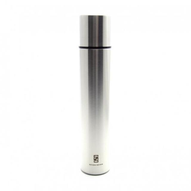 SEVEN SEVEN (セブンセブン) tsutsu bottle(ツツ ボトル ) ステンレス真空ボトル・水筒 (ステンレスシルバー) 【360ml】