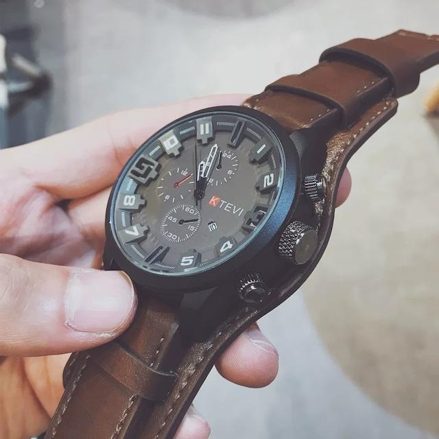 【小物】ストリート系ファッションカジュアル腕時計42897654