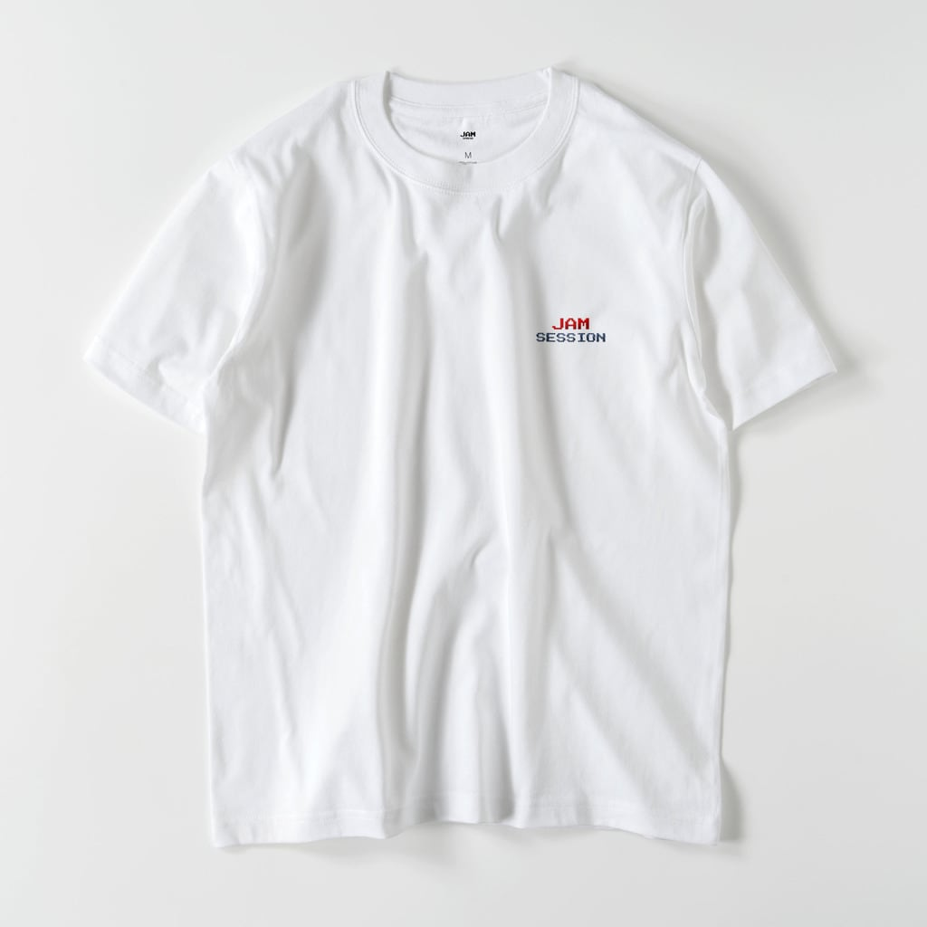 JAM SESSION EMBROIDERY T (WHITE)
