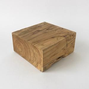 無垢のチークの木塊|Solid Teak Wood