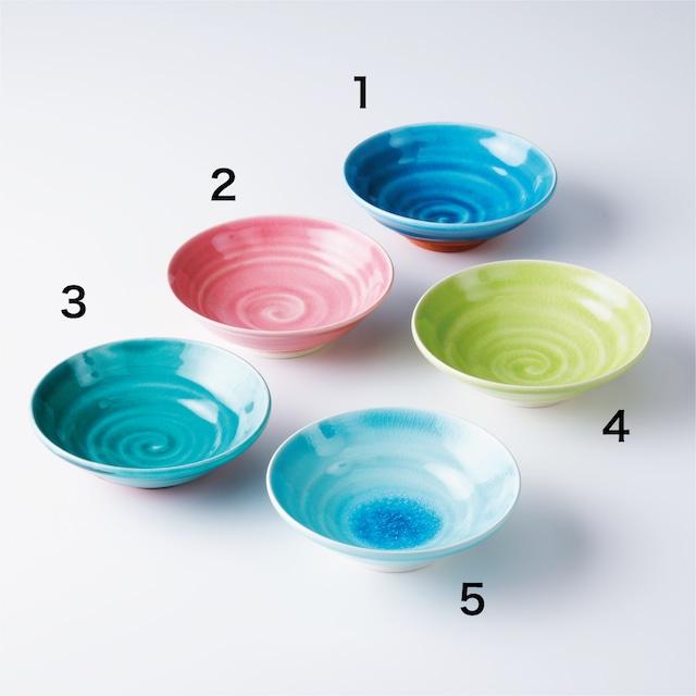 """京焼鉢「常磐/若草/露草/薄紅梅/淡青」 Kyo-ware bowl""""TOKIWA/WAKAKUSA/TSUYUKUSA/HAKUKOBAI/TANSEI"""""""