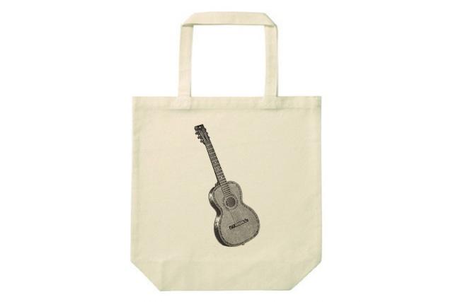 ギターのトートバッグ