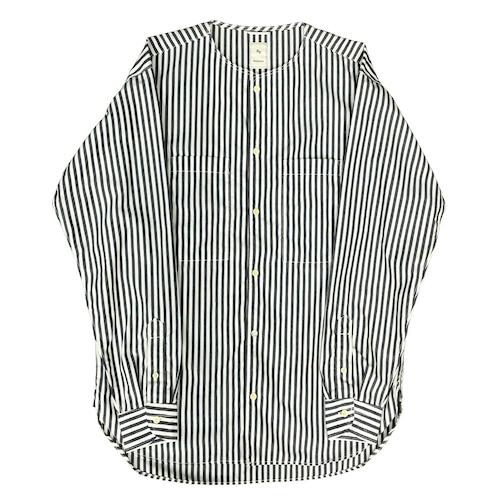 TYPEWRITER BASEBALL SHIRT / タイプライターベースボールシャツ(NVY)