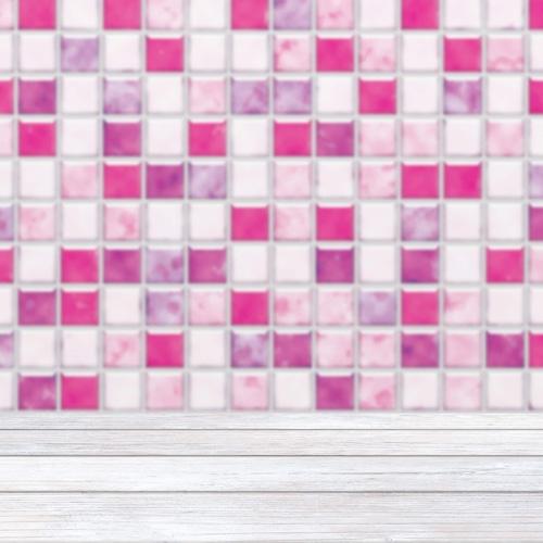 Ca_モザイクタイルカフェ(ピンク)