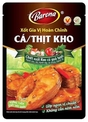 Barona Cá , Thịt Kho / 魚ー豚肉煮物ソース