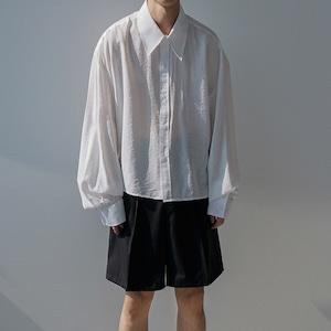 Plain cotton basic shirt   b-381