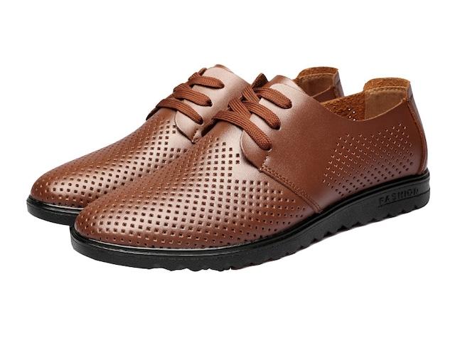 ウォーキングシューズ 革靴 軽量 ブーツ レザー 革 メンズ シューズ カジュアル shs-2