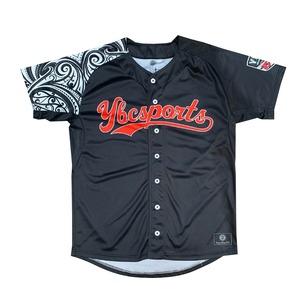 【YBC】Baseball Shirt Black × White