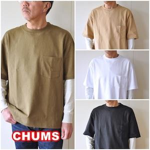 CHUMS  チャムス ヘビーウェイト ポケットTシャツ ch01-1870 メンズ Tシャツ 半袖Tシャツ