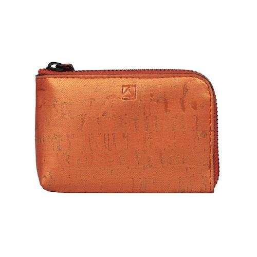 VEGAN COIN CASE - SUNSET/ コインケース サンセット コルク製 ビーガン 一年保証