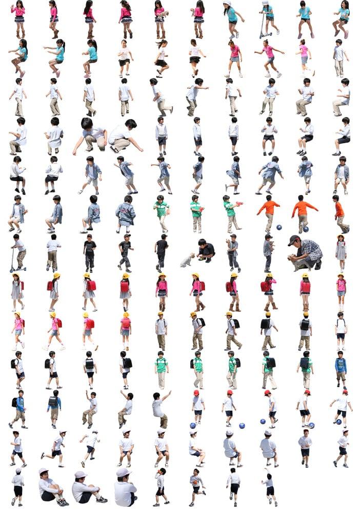 小学生SketchUp素材 4l_006 - 画像2