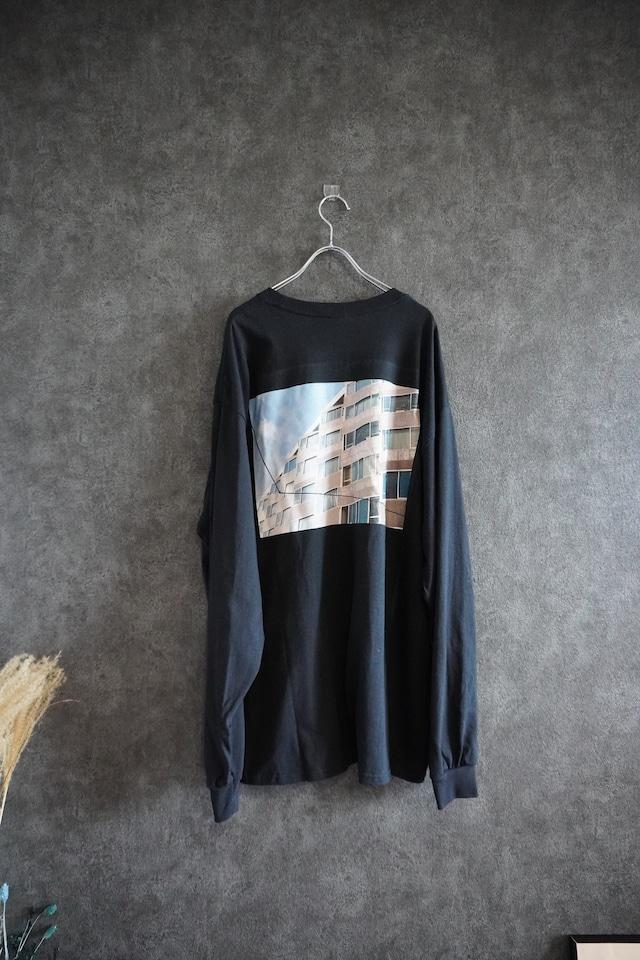 【受注生産】connecter tokyo Housing  long sleeve tee Black