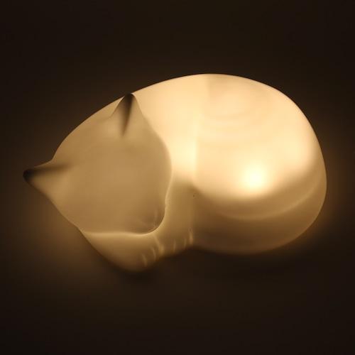猫LEDライト(ネルネコ置き型ライト)