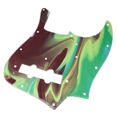 VARIOUS MARBLEIZED PICK GUARD SERIES - 60s J-type  Only One Design - ベース用マーブルピックガード ja4-2