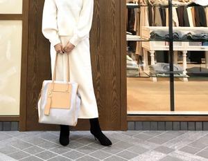 [SALE][送料無料] GREED(グリード) Reversible Check Wool Bag