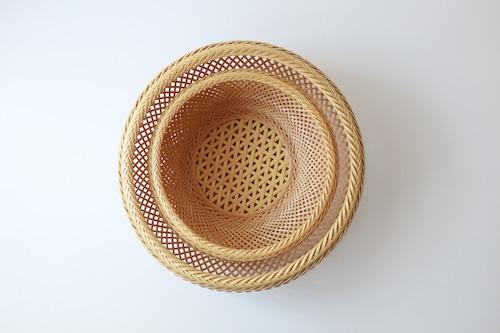 児玉美重 鉄鉢盛りかご(大)
