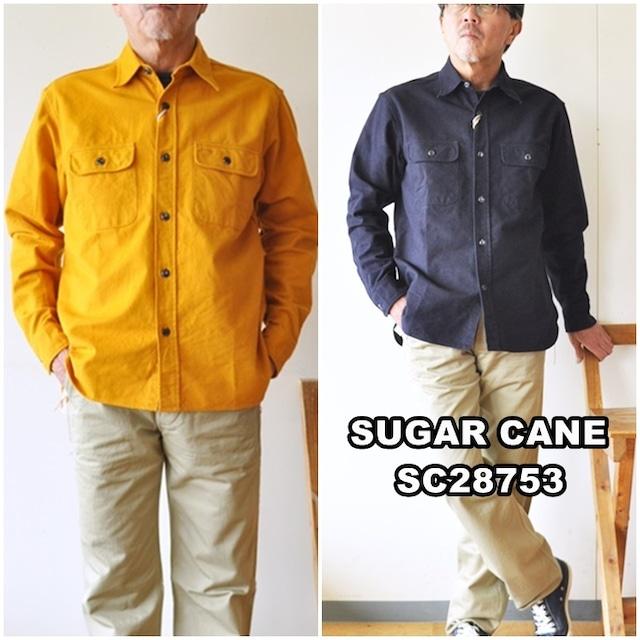 SUGARCANE  シュガーケーン ヘビーツイルシャツ 長袖ワークシャツ 28753 東洋エンタープライズ