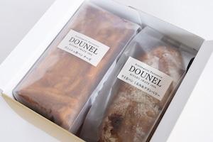 DOUNELチーズデニッシュ・ライ麦パンセット (クランベリー)