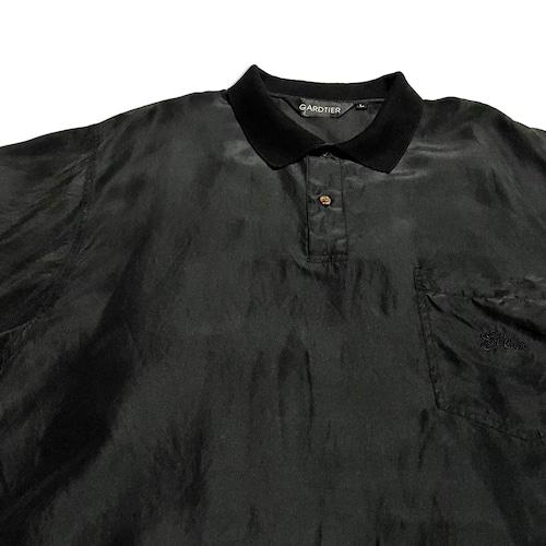 00's GARDTIER シルクポロシャツ