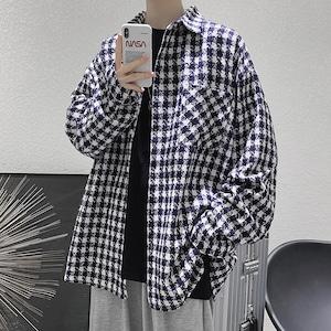 ワンポケットチェックシャツ BL9602