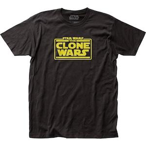 Tシャツ スター・ウォーズ クローン・ウォーズ ロゴ