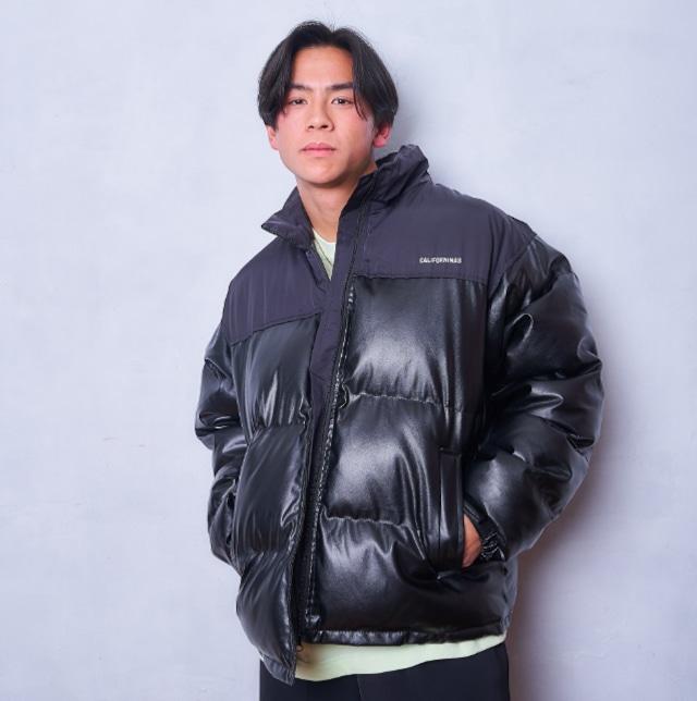 【最短2日で発送/1点限定】One color volume down jacket LD0229