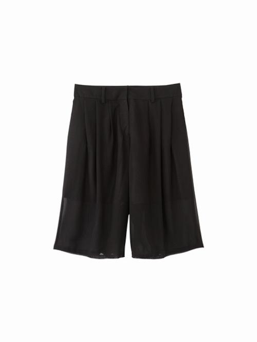 Half pants-2  / black / S16PT02-2