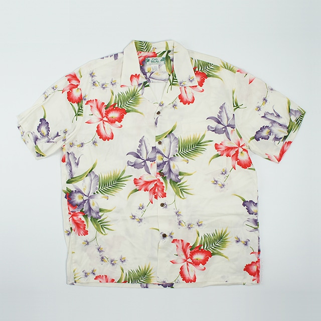 メンズ アロハ オーキッド(ホワイト)*/XL(2L・LL) M501R-Aloha-Orchid WH
