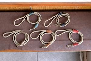 3色のロープを使った散歩用リード パターンオーダー L1